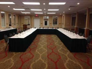 Corporate meeting room at the District Event Center